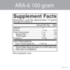 ARA 6 Product Data Information