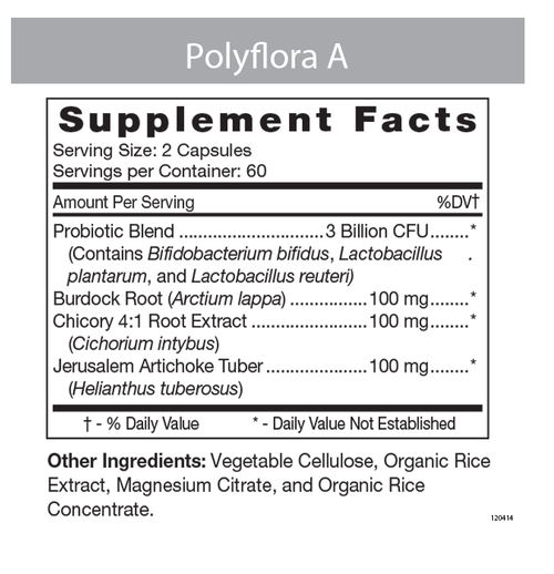 Polyflora A Label