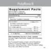 Polyflora B Label