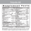Polyvite AB Label