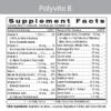 Polyvite B Label