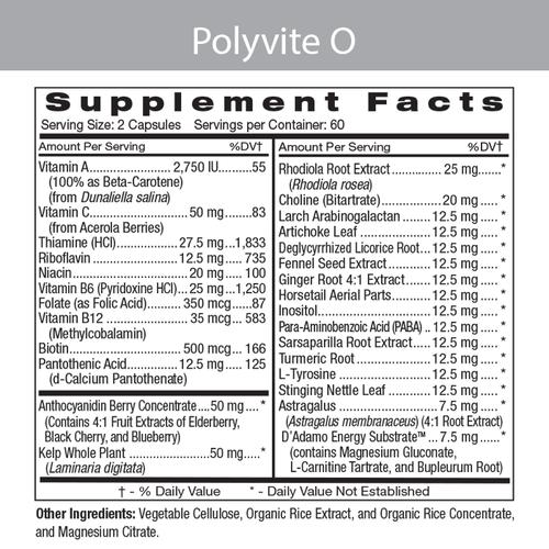 Polyvite O Label