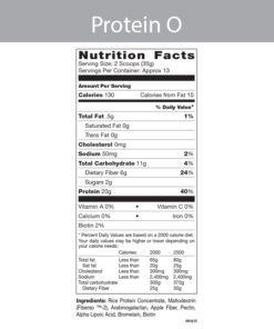 Protein Powder O Label