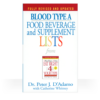 Book Eat Right For Your Blood Type Booklet A