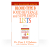 Cook Book For Blood Type B Booklet