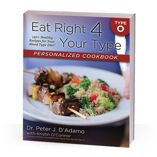 Cook Book For Blood Type O