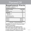 Flaxseed Oil Product Information