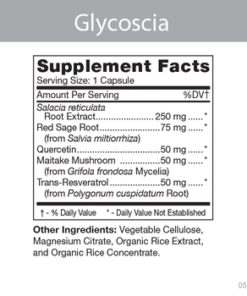 Glycoscia Product Information